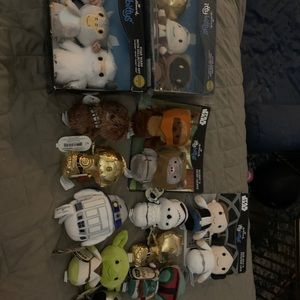Star Wars itty bitty collection. NWT